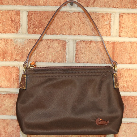 4d71ee5e Dooney & Bourke Mini Nylon Pouchette Shoulder Bag